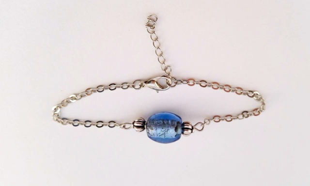 Bracelet_Gourmette-Perle-Bleu-Azur